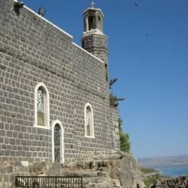 כנסיית הבכורה חוץ - The First Church outside
