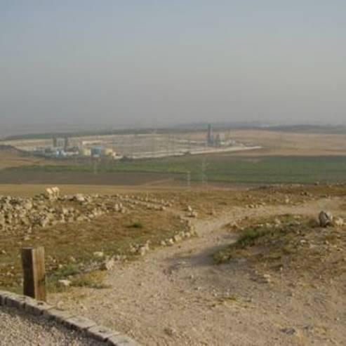 תצפית מתל צפית - View from Tel Tzafit