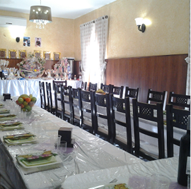 מלון הבירה - חדר אוכל - Hotel HaBira - Dining Room