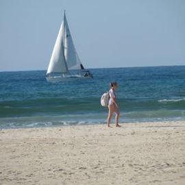 חוף נכים מסודר בהרצליה - Handicapped beach in Herzliya