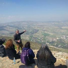 נוף מאכסניית מדרשת שומרון - View from Midreshet Shomrom Hostel