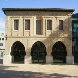 מוזיאון הנגב לאומנות מבחוץ - Negev Museum of art view from the outside