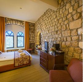 מלון רימונים רות - חדר שינה - Rimonim Rut Hotel - Bedroom