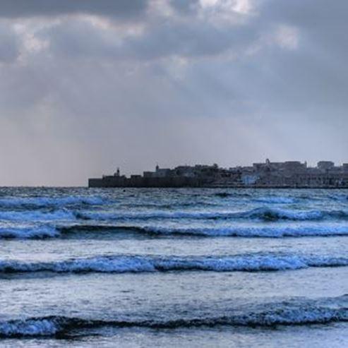 חוף ארגמן עכו - Argaman Akko Beach