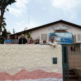 חזית אכסניית שלטר - Shelter Hostel Front