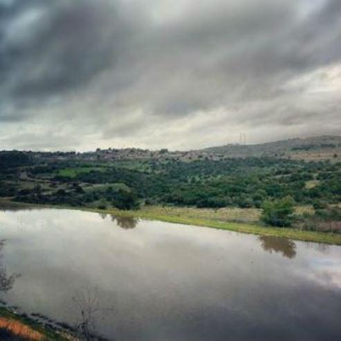 מאגר מים בחורפיש - Water reservoir in Hurfeish