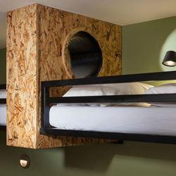 חדר שינה עם מיטת קומותיים - Bedroom with bunk bed