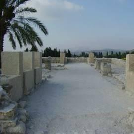 גן לאומי מגידו - Megiddo National Park