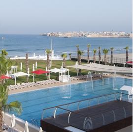 מלון חוף התמרים - בריכה - HaTmarim Beach Hotel - Pool