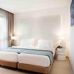 מלון נחשולים - חדר שינה