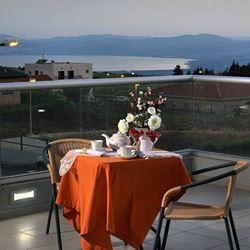 לב המקום של לאה- נוף מהמרפסת - Lev HaMakom Shel Lea - Balcony view