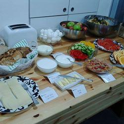 ארוחת בוקר בבית בן יהודה - Ben Yehuda House Breakfast