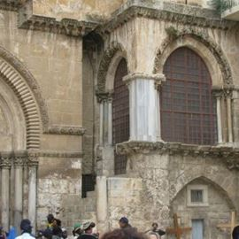כנסיית הקבר - Church of the Holy Sepulchre