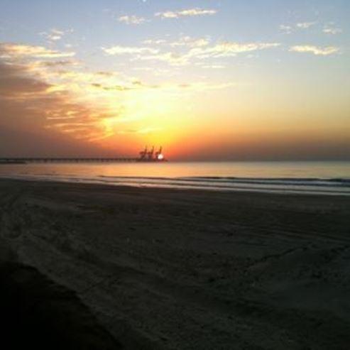 שקיעה בחוף הים - Sunset at the beach
