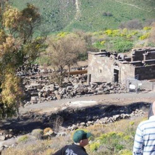 בית הכנסת אום אל קנאטיר - Umm El Kanatir Synagogue