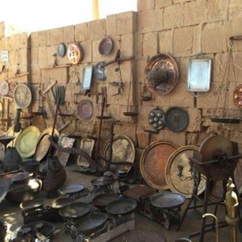 השוק הנבטי בממשית - The Nabatean market in Mamshit