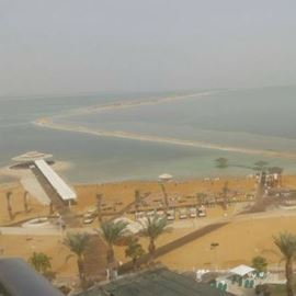 החוף הבינלאומי ים המלח - Dead Sea International Beach
