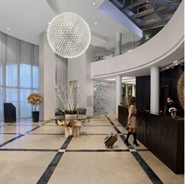 מלון רמדה - לובי - Ramada Hotel - Lobby