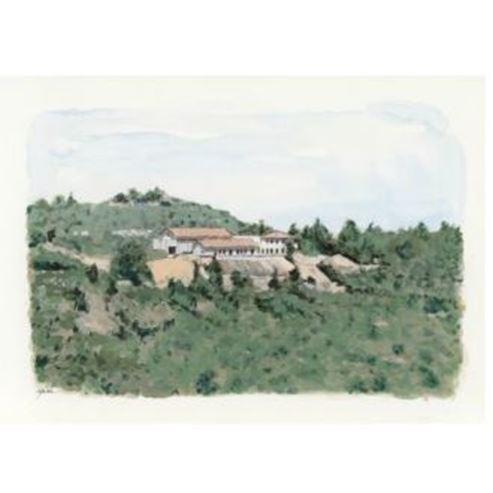 ציור של היקב - Painting of the winery