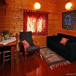 סלון בצימר - Living room in Zimmer