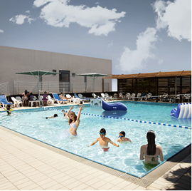 בריכת מלון ארקדיה - Hotel Pool Arcedia