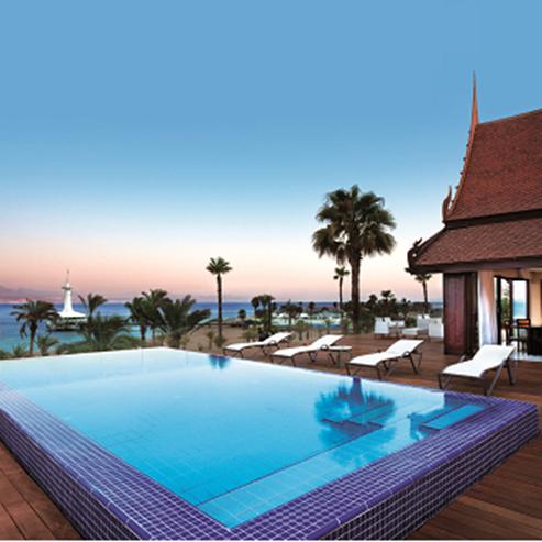 מלון אורכידאה - בריכה - Orchid Hotel - Pool