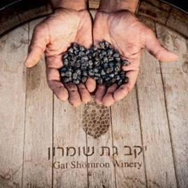 ידיים עם ענבים - Hands with grapes