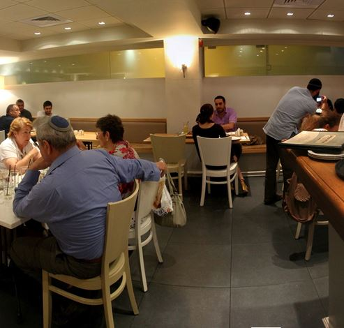 Inside the restaurant - בתוך המסעדה