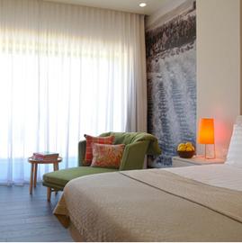 מלון שדות - חדר שינה - Sadot Hotel - Bedroom