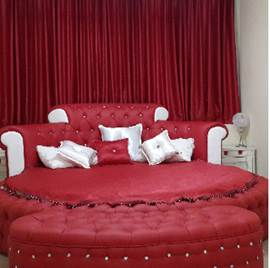 חדר שינה במלון קאזה דה מריה - Bedroom at Casa de Maria
