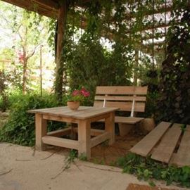 גינה של הצימר - Zimmer Garden