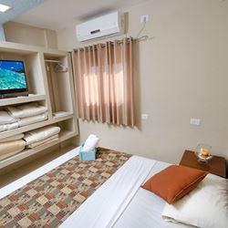 כפר הנופש חוף דור - חדר שינה - Dor Beach Resort - Bedroom