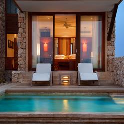 תמונה של חדר במלון בראשית עם בריכה פרטית - Picture of Bereshit hotel room with a private pool