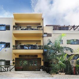 חזית המלון - וילה כרמל - Front of Hotel - Villa Carmel