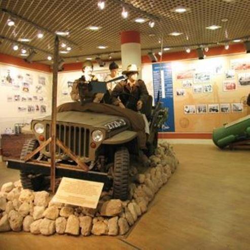 מוזיאון אילת עירי מבט מבפנים - Eilat Museum interior view
