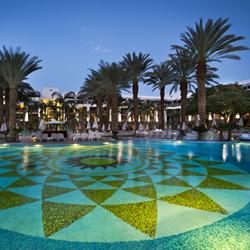 בריכה חיצונית מלון אגמים אילת - Outdoor Pool Hotel Agamim Eilat