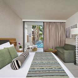 חדר השינה, מלון אגמים אילת - Bedroom at Agamim Eilat Hotel