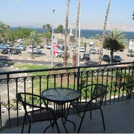 מלון פנורמה - מרפסת - Panorama Hotel - Balcony