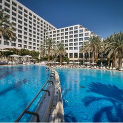 בריכת מלון ישרוטל ים המלח - Hotel Pool Isrotel Dead Sea