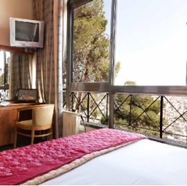 מלון סנט גבריאל - חדר שינה - St. Gabriel Hotel - Bedroom