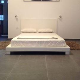 מיטה זוגית בחדר הצימר - Double bed in Zimmer room