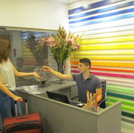 מלון דיזינגוף סי רזידנס - קבלה - Dizengoff Sea Residents Hotel - Reception