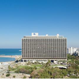 מלון הילטון תל אביב - חזית - Hilton Tel Aviv Hotel - Front