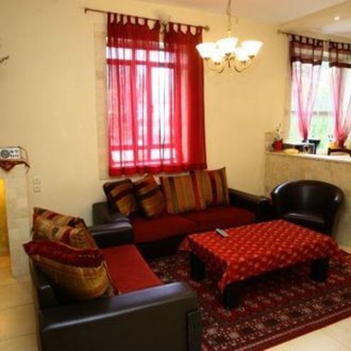 סלון בתוך הצימר - Living room in the zimmer
