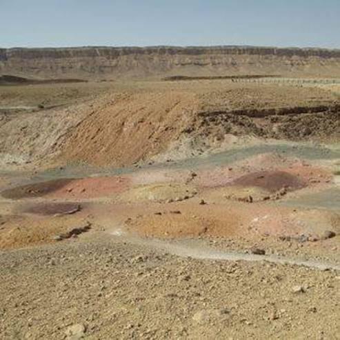 חול צבעוני - Colorful sand