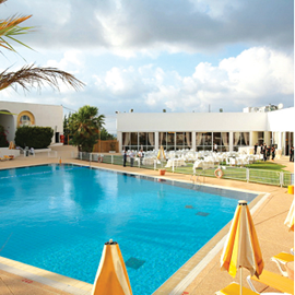 מלון אשל השומרון - בריכה - Eshel Shomron Hotel - Pool