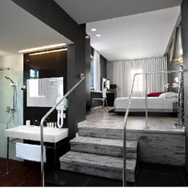 מלון טמפלרס - חדר שינה - Templers Hotel - Bedroom
