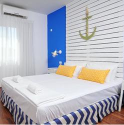 מלון גשר הזיו - חדר שינה - Gesher HaZiv Hotel - Bedroom
