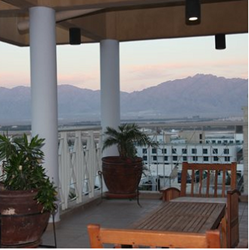 מרפסת  מלון בלו - Balcony Blue Hotel