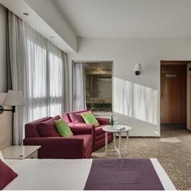 מלון רמת רחל - חדר שינה - Ramat Rachel Hotel - Bedroom